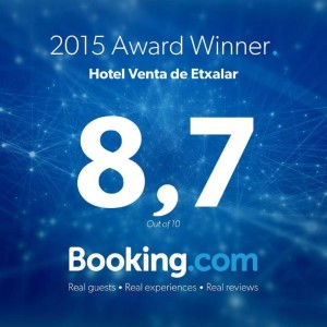 Hotel etxalar en Booking
